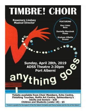 Timbre! Choir - Anything Goes